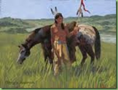 Lakota sioux Warrior