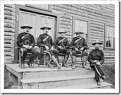Group of Mounties