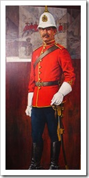 Mountie in color