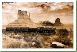 7.Westbound train