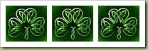 Tripple Celtic shamrock sm
