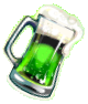 Green beerflipped