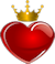 crowned heartSM