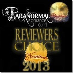 PRG Reviewer's Choice nominee 2013
