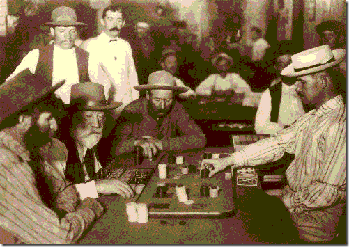 Faro players 1895 Arizona