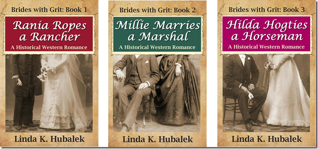 brides with grit trio 1-2-3