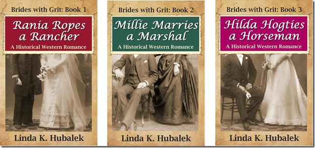 brides with grit trio 1-2-3