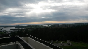 Evening time from Ullandhaug tower