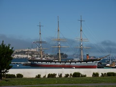 1870s Ship at fisherman's Wharf 1