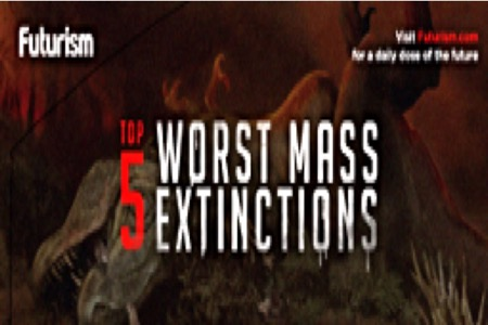 Top 5 Worst Mass Extinctions – Infographic…